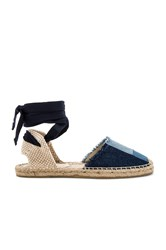 Soludos Patchwork Classic Sandal Navy