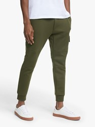 Ralph Lauren Polo Double Knit Cargo Joggers Company Olive