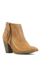 Chelsea Crew Babel Zip Up Bootie Brown