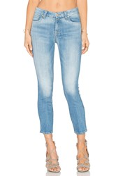 7 For All Mankind Kimmie Crop Aegean Sea