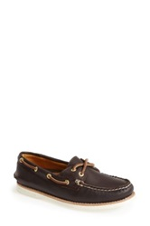 Sperry 'Authentic Original Gold Cup' Leather Boat Shoe Women Brown