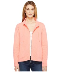 Fresh Produce Lotus Jacket Sunset Coral Women's Jacket Khaki