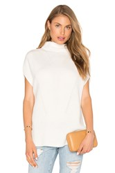 Vince Sleeveless Turtleneck Ivory