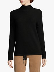 Betty Barclay Cotton Blend Ribbed Jumper Black