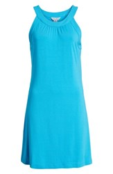 Tommy Bahama Tambour Tank Dress Hawaiian Ocean