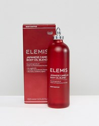 Elemis Japanese Camellia Body Oil Blend 100Ml Japenese Oil Blend Clear