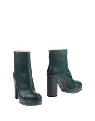 Pinko Ankle Boots Green