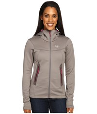 Arc'teryx Arenite Hoodie Brushed Nickel Women's Sweatshirt Silver