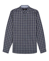 Jaeger Multi Check Shirt Olive