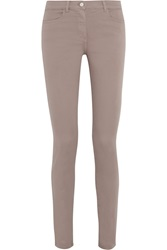 Alexander Wang Stretch Sateen High Rise Skinny Jeans