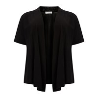 Windsmoor Linen Short Sleeve Cardigan Black
