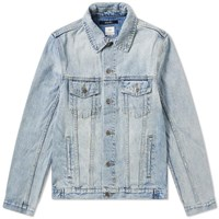 Ksubi Classic Karma Denim Jacket Blue