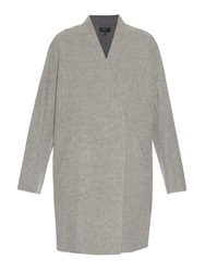 Rag And Bone Singer Reversible Wool And Cotton Blend Coat