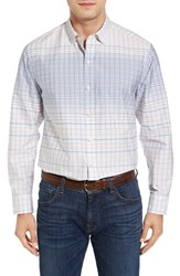Tommy Bahama Men's Ponte Vedra Ombre Check Cotton And Silk Sport Shirt