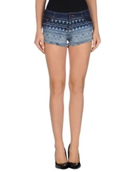 Relish Denim Shorts Blue
