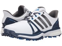 Adidas Adipower Boost 2 Ftwr White Mineral Blue Shock Blue Men's Golf Shoes
