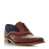 Barker Mcclean Formal Brogues Brown