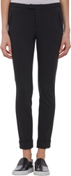 Atm Anthony Thomas Melillo Ponte Cuffed Slim Fit Trousers Black