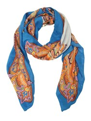 Etro Printed Modal And Cashmere Scarf Multicolor