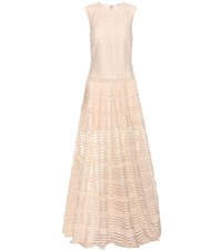 Givenchy Tulle Gown Neutrals