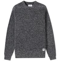 Wood Wood Clifford Crew Knit Black