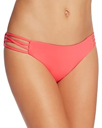L Space Low Down Bikini Bottom Hot Cherry