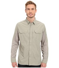 Kuhl Airspeed Long Sleeve Top Khaki Men's Long Sleeve Button Up