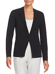 Akris Bill Double Face Wool Blazer Black