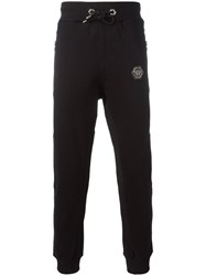 Philipp Plein Term Track Pants Black