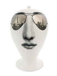 Fornasetti 'Paris Tour' Vase White