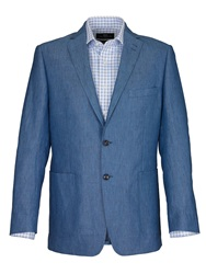 Paul Costelloe Formal Button Blazer Light Blue