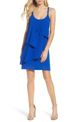 Adelyn Rae Women's Shift Dress Electric Blue