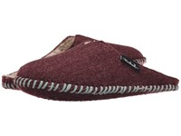 Woolrich Felt Mill Scuff Port Women's Slippers Burgundy