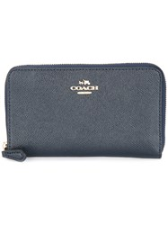 Coach Zipped Continental Wallet Black