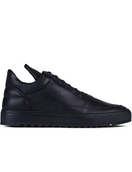 Filling Pieces Low Top Thick Ripple Black Sneakers