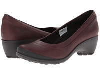 Merrell Veranda Burgundy Women's Slip On Dress Shoes