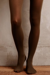 Pure Good Opaque Tights Moss