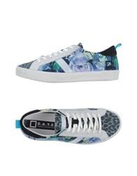 D.A.T.E. Footwear Low Tops And Trainers Women Pastel Blue