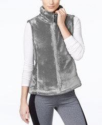 Ideology Lux Faux Fur Vest Only At Macy's Shadow
