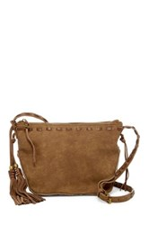 Steve Madden Camille Faux Leather Crossbody Green