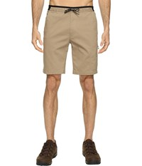 Mountain Hardwear Ap Scrambler Shorts Khaki Men's Shorts