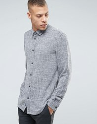 Selected Homme Shirt In Regular Fit Grey