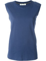 Each X Other Stitch Detail Tank Top Blue
