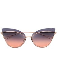 Dita Eyewear Nightbird One Sunglasses Brown