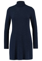 Abercrombie And Fitch Jersey Dress Navy Blue
