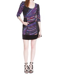 Plenty By Tracy Reese Abstract Sheath Dress Big Scribbler