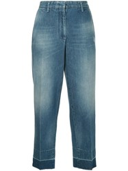 Golden Goose Deluxe Brand High Rise Jeans Blue