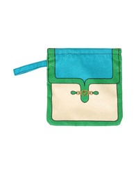 Roberta Di Camerino Small Leather Goods Pouches Women Turquoise