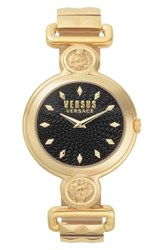 Versus By Versace Sunnyridge Bracelet Watch 34Mm Gold Black Gold