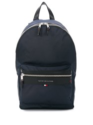 Tommy Hilfiger Elevated Zipped Backpack Blue